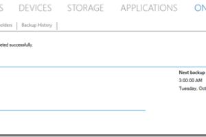 Azure Online Backup