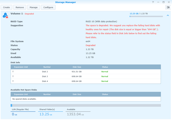 Synology DS1515+ Review – Part 1: Initial setup and basics – Baris