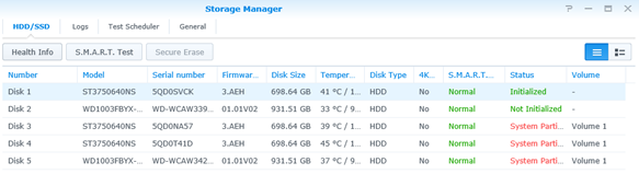 Synology DS1515+ Review – Part 1: Initial setup and basics